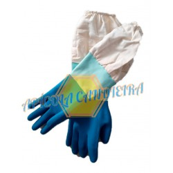 GUANTE LATEX AZUL